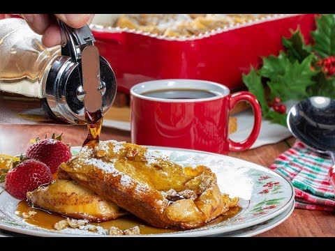 To make change in french toast with eggnog