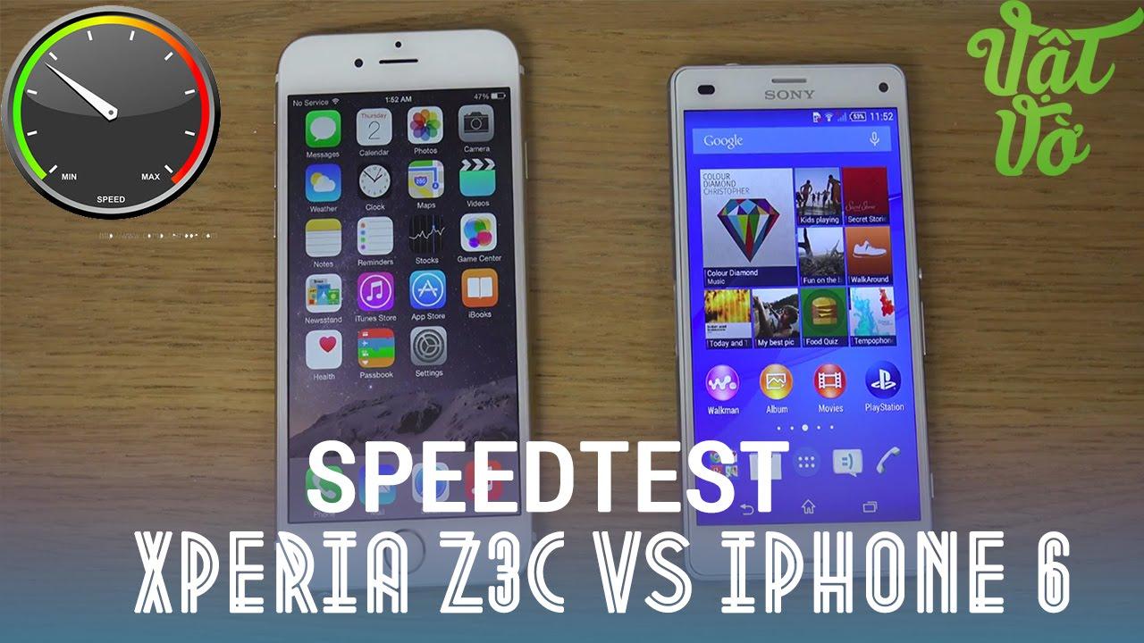 [Review dạo] So sánh sony Xperia Z3 Compact và iPhone 6