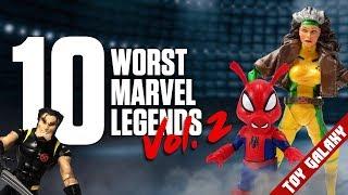 Top 10 Worst Marvel Legends vol. 2 - List Show #61