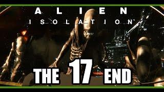 Alien: Isolation | FINAL STAND! | 60fps PC Gameplay, (Part 17 / Ending) Walkthrough w/ facecam