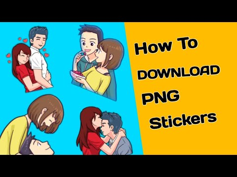 How To Download PNG stickers | For make Whatsapp status video |