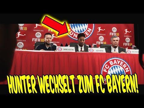 FIFA 18 - HUNTER wechselt zum FC BAYERN in THE JOURNEY 2 ⚽🔥 FifaGaming Karrieremodus Story Mode #13