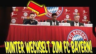FIFA 18 - HUNTER wechselt zum FC BAYERN in THE JOURNEY 2 ⚽🔥 FifaGaming Karrieremodus Story Mode #13
