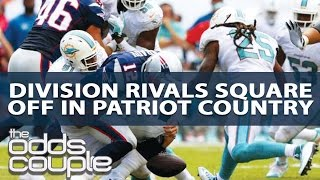 Miami Dolphins vs New England Patriots NFL Week 2 Odds Breakdown