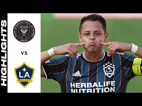 Inter Miami Los Angeles Galaxy Goals And Highlights