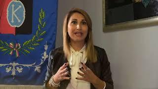 """Contagi a Casacalenda: il video della """"sindaka"""" Sabrina Lallitto"""