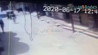 كاميرات المراقبة تفضح زوج ايمان عادل..بالفيديو مرتكب الجريمة داخل سيارة الزوج المحرض بعد الحادثة