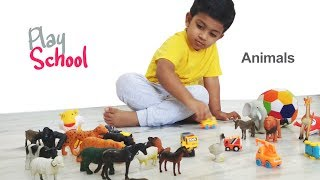 Play School kids | Animals Names | Play school channel for kids
