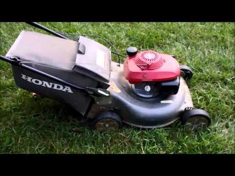 Honda HRR216 Harmony II Lawn Mower with the Quadra Cut System – Craigslist Find - August 7, 2014