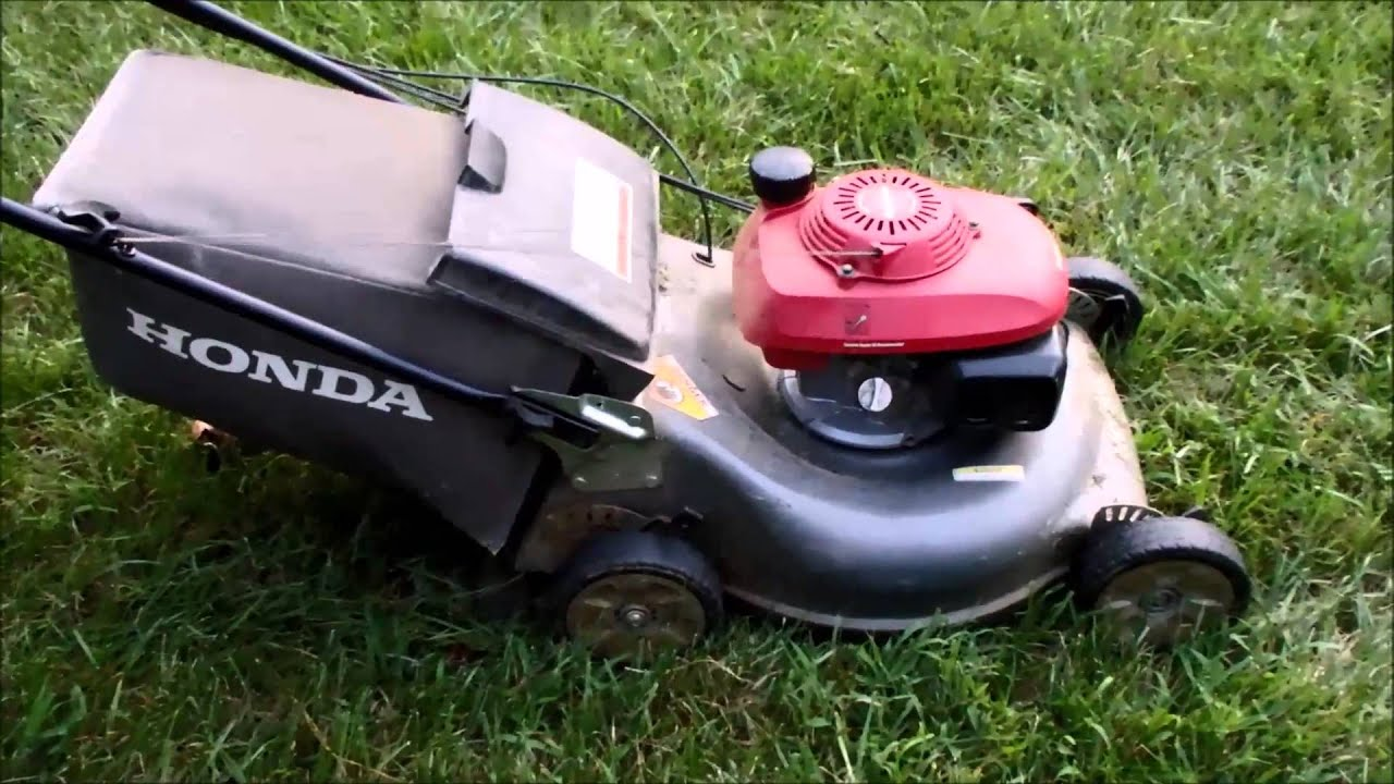 Honda HRR216 Harmony II Lawn Mower with the Quadra Cut ...