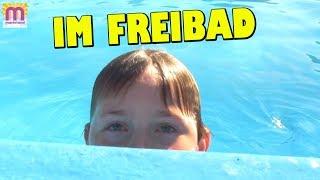 Im Freibad mit den Jungs 👩 marieland Vlog # 195 😘