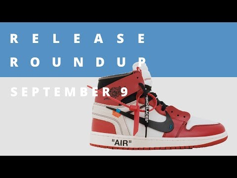 Virgil Abloh Speaks on his OFF-White x Nike Collection | Release Roundup