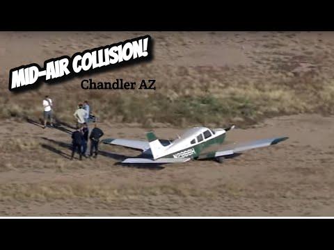 Mid-Air Collision Chandler Arizona 1 Oct 2021