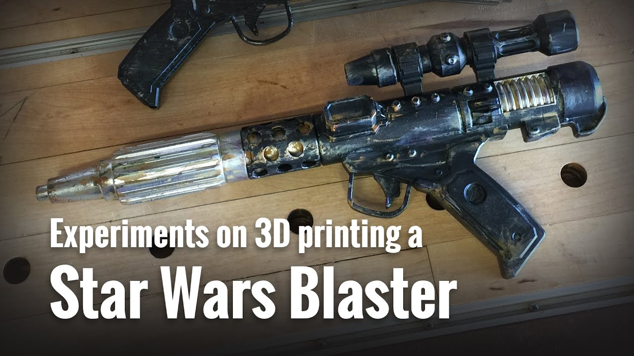 DH-17 Star Wars Blaster