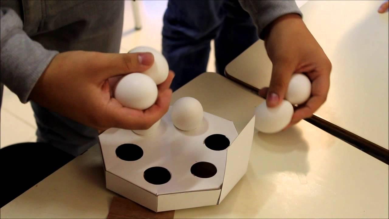 Pueba de caja de huevos dise o 2013 taller v youtube - Caja de huevo ...