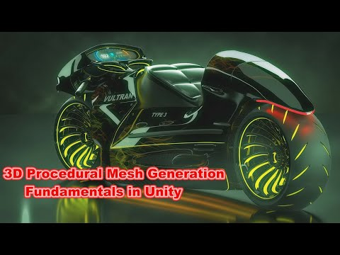 3D Procedural Mesh Generation Fundamentals in Unity : Normals, UVs and Submeshes