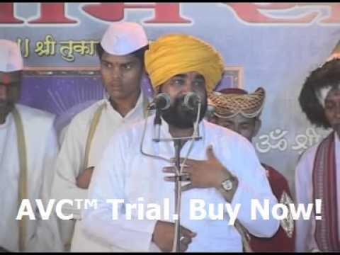 Ramrao Maharaj Dhok VCD Kirtan -Deva ata aisa kari upakar