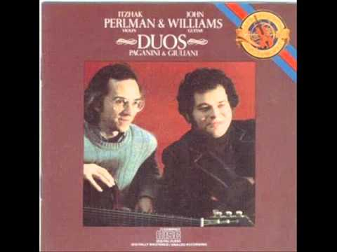 Itzhak Perlman, John Williams - Sonata for Violin and Guitar - IIb. Theme & Variations: Variation 1