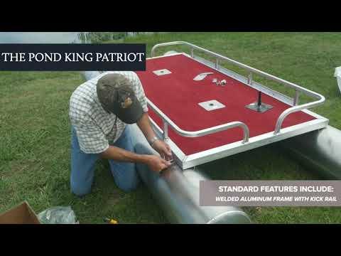 Patriot Fishing Pontoon Boat