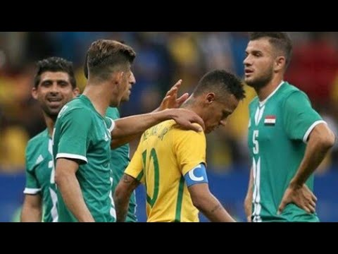 ذاكرة الملاعب - العراق VS البرازيل - أولمبياد ريو دي جانيرو 2016