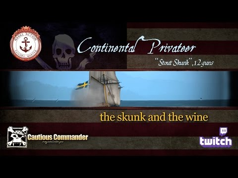 Continental Privateer - the skunk and the wine