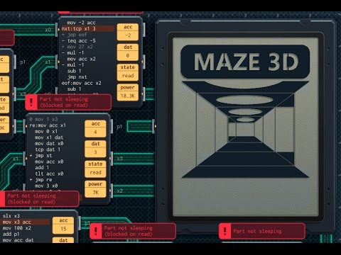 Shenzhen I/O: 3D First-person maze puzzle - YouTube
