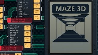 Shenzhen I/O: 3D First-person maze puzzle