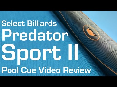 Predator Sport 2 - Pool Cue Video Review by Select Billiards
