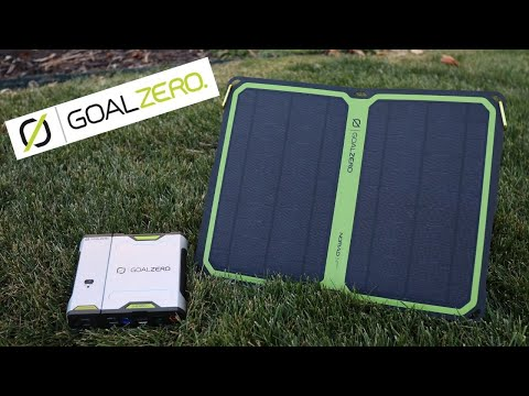 Goal Zero Nomad 14 Plus & Sherpa 50 Review! | The Best Solar Charger and Solar Power Bank Combo!