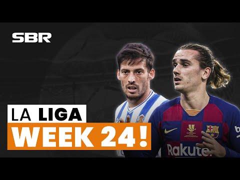 ⚽ La Liga Betting Tips and Free Picks Week 24