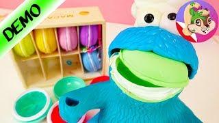 Potwór Ciasteczkowy wżera szlamowe makaronik! To nie będzie dobrze smakować - zgrywamy się!