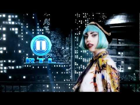 Lady Gaga posiert für RTL II in Metropolis 4