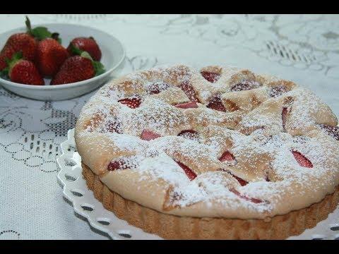 gâteau-aux-fraises-moelleux-!