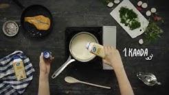 Valio Kermaiset kastikkeet: Yrttinen juustokastike kalalle 10 sekunnissa
