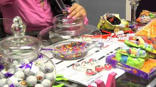 How To Make A Beautiful Halloween Candy Bar