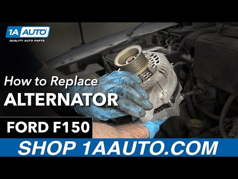 How To Replace Alternator 97-04 Ford F150
