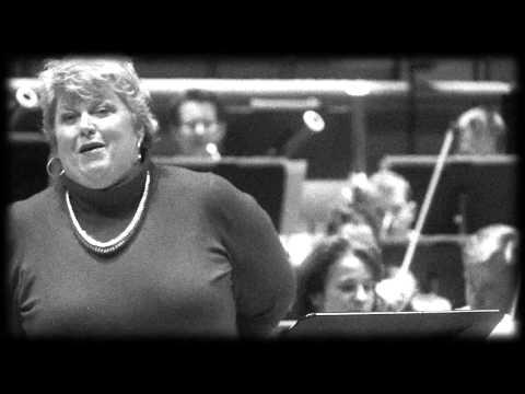 """Probe in der Philharmonie: Christine Brewer singt """"September"""" von Richard Strauss"""