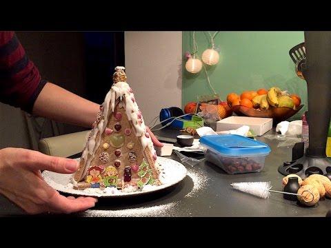 Deine deutsche Gastfamilie - Wir bauen ein Lebkuchenhäuschen