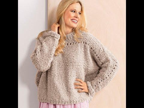 Свитер Летучая Мышь Спицами - 2019 / Sweater Bat Knitting Needles