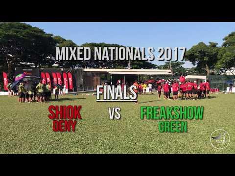 Mixed Nationals 2017 - FINALS: Shiok Deny v Freakshow Green