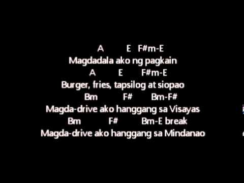 ERASERHEADS - OVERDRIVE lyrics w/guitar chords - YouTube