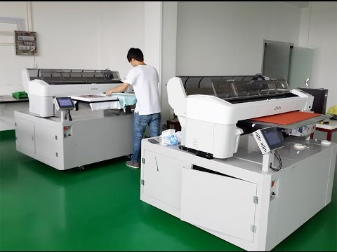 DTG printing factory take 2 Polar-Jet with Epson Surecolor T7000 for Industrial DTG printing
