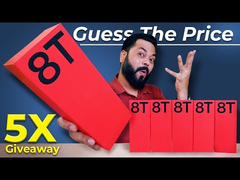 This Is The OnePlus 8T 5G   Guess The Price 💸 5X Giveaway ⚡⚡⚡ 6M Special