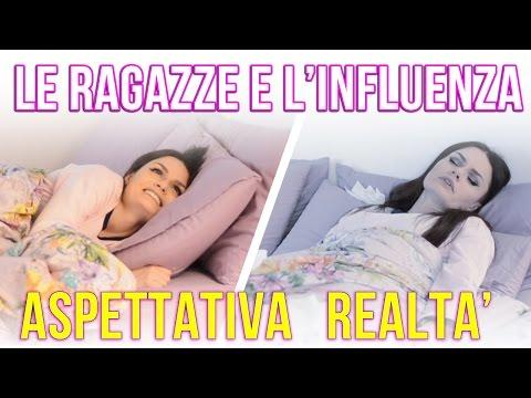LE RAGAZZE E L'INFLUENZA : ASPETTATIVA VS REALTA'