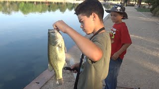 Bass Fishing: Future Bass Pros Catch 26 Bass on Film While Using Senko Worms and Jigs