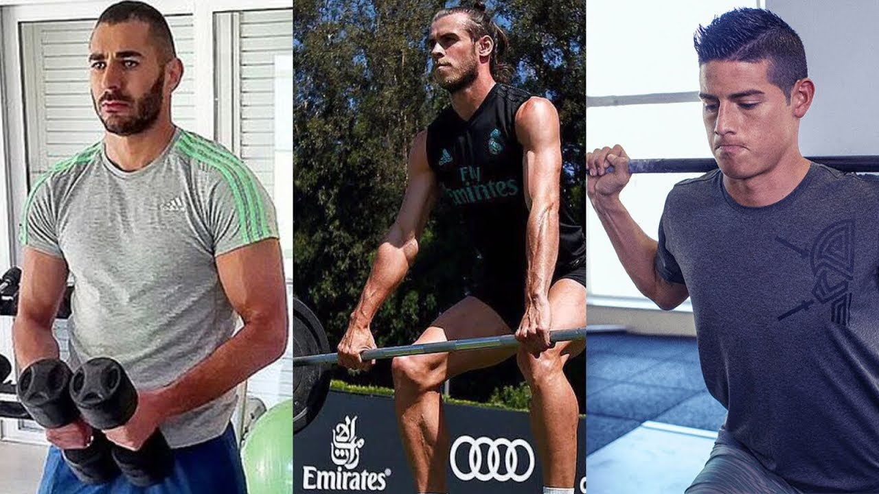Karim Benzema, Gareth Bale, James Rodriguez | Gym Training 2018