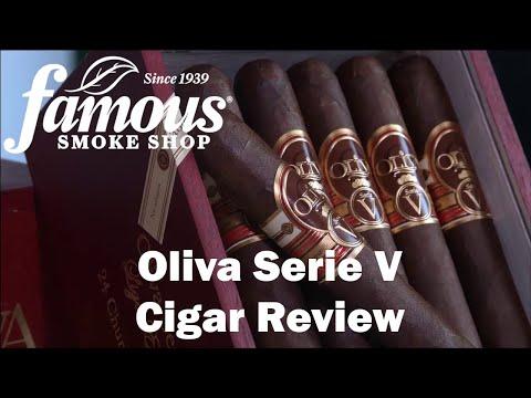 Oliva Serie V Cigars Review - Famous Smoke Shop