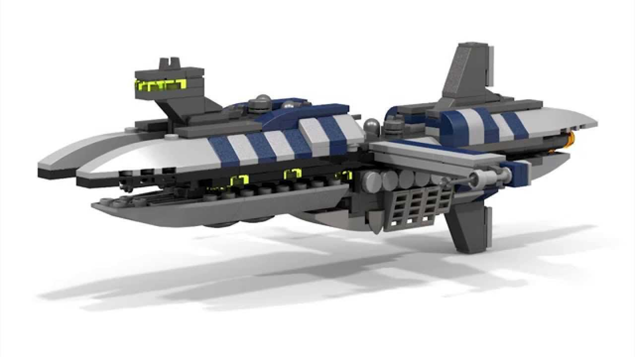 Lego Star Wars Munificent Class Frigate Micro Youtube