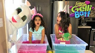 Kids Pretend Play Treasure Hunting for Surprise Toy -Gelli Baff