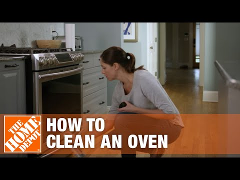 How To Clean An Oven | Oven Cleaning Tips | The Home Depot